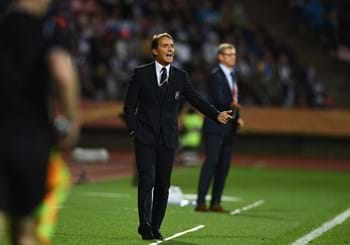 "Mancini: ""The boys were excellent, I hope to see a Stadio Olimpico full of fans on 12 October"""